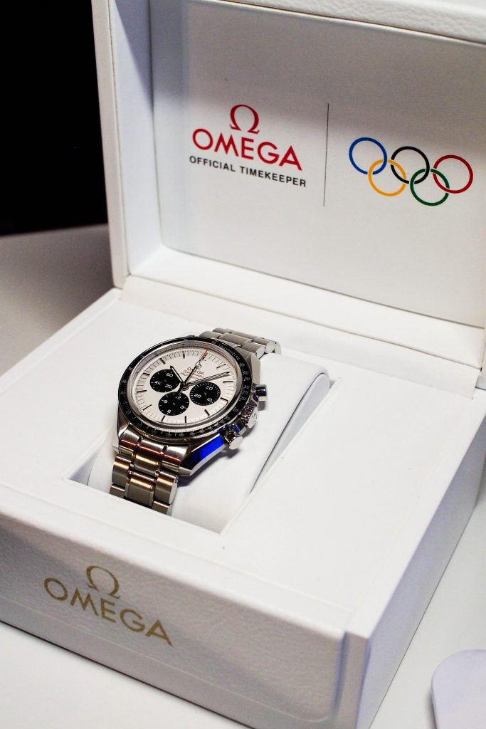 The iconic Omega Speedmaster