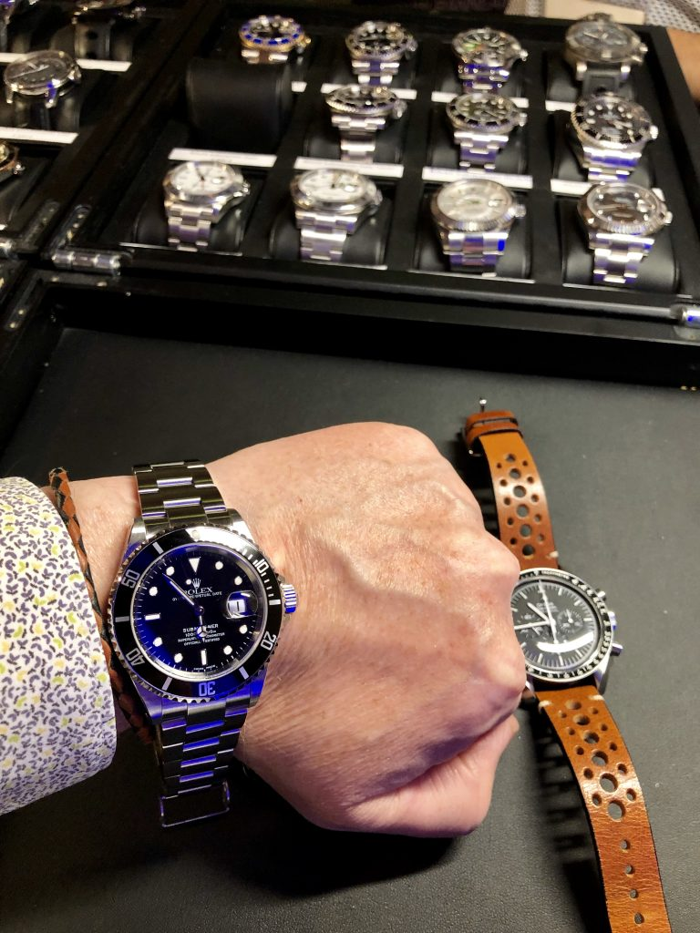 An iconic Rolex Submariner