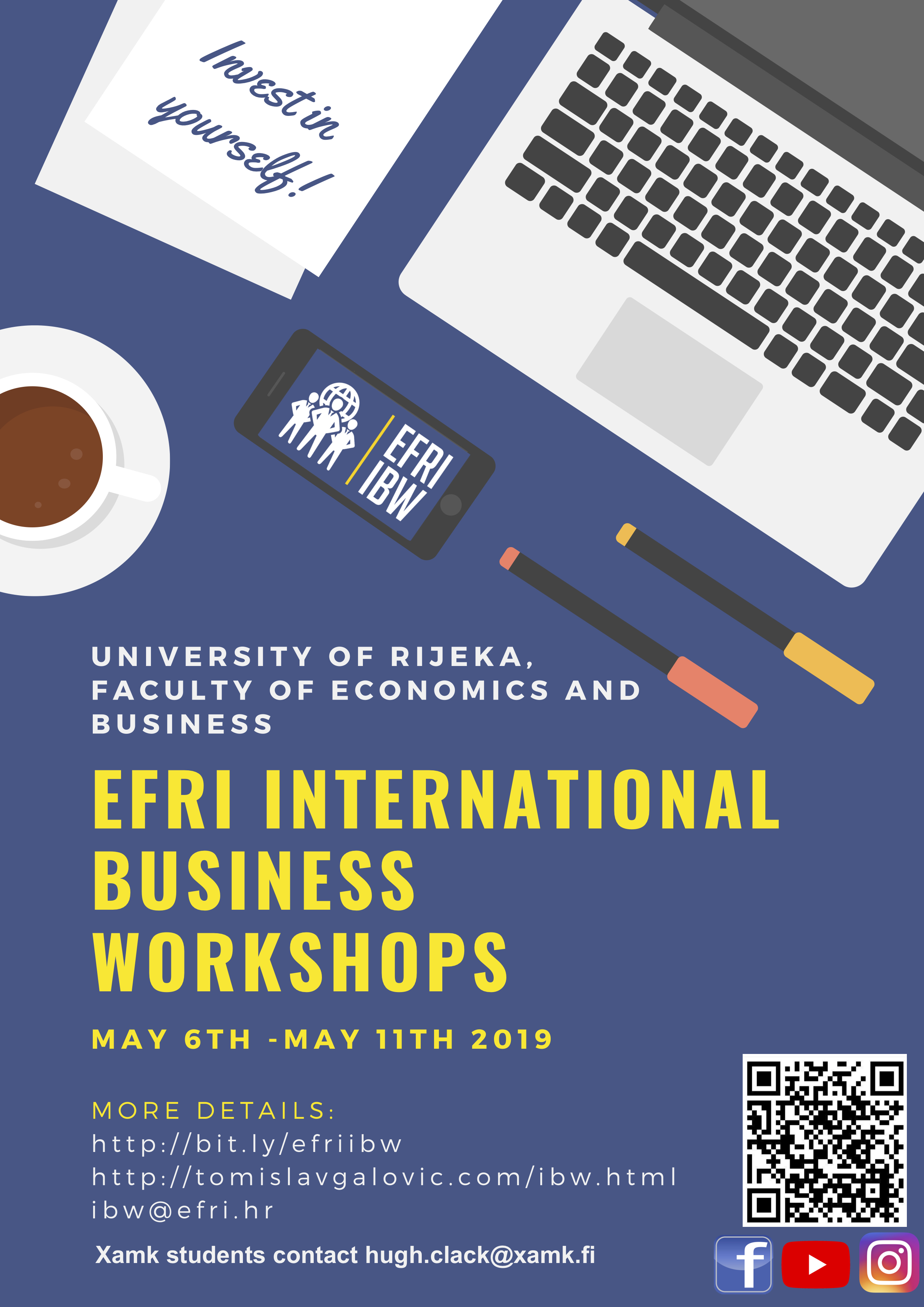 EFRI international business workshops